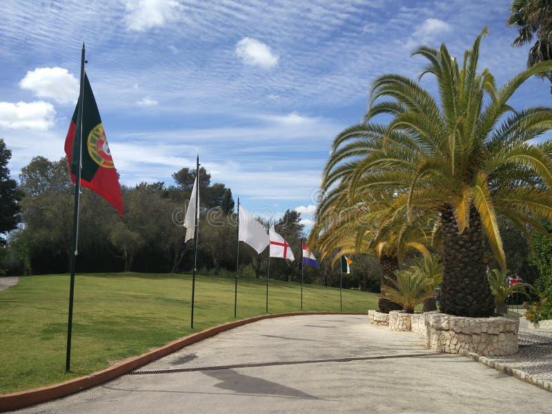 Station de vacances de luxe de golf image libre de droits
