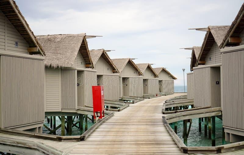 Station de vacances Maldives photo libre de droits