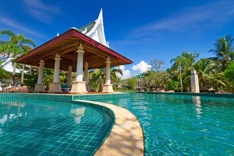 Station De Vacances Orientale En Thaïlande Photos libres de droits
