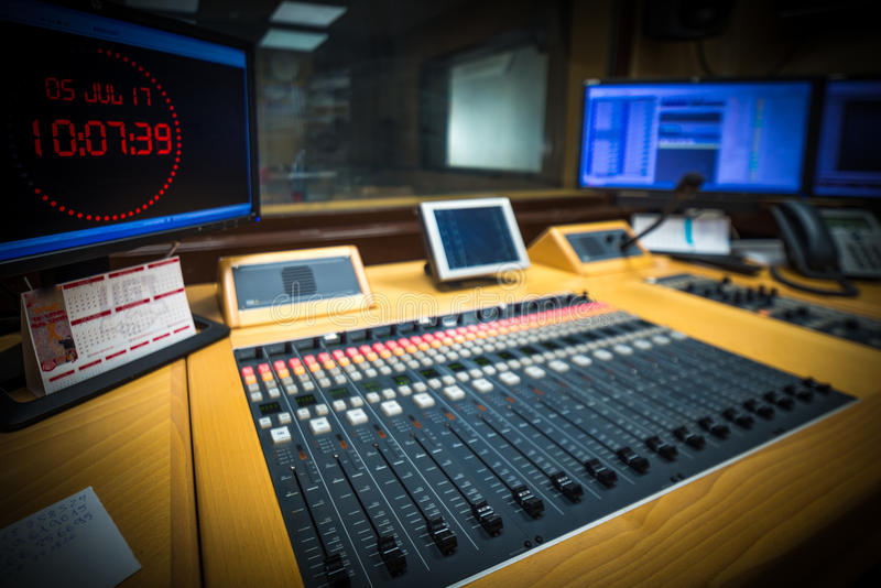 Station des Radios stockbild