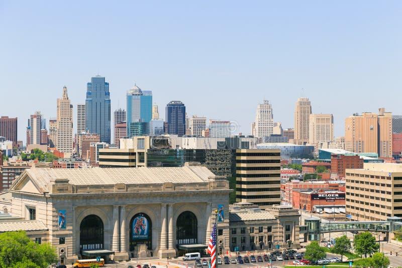 Station des syndicats de Kansas City photo libre de droits