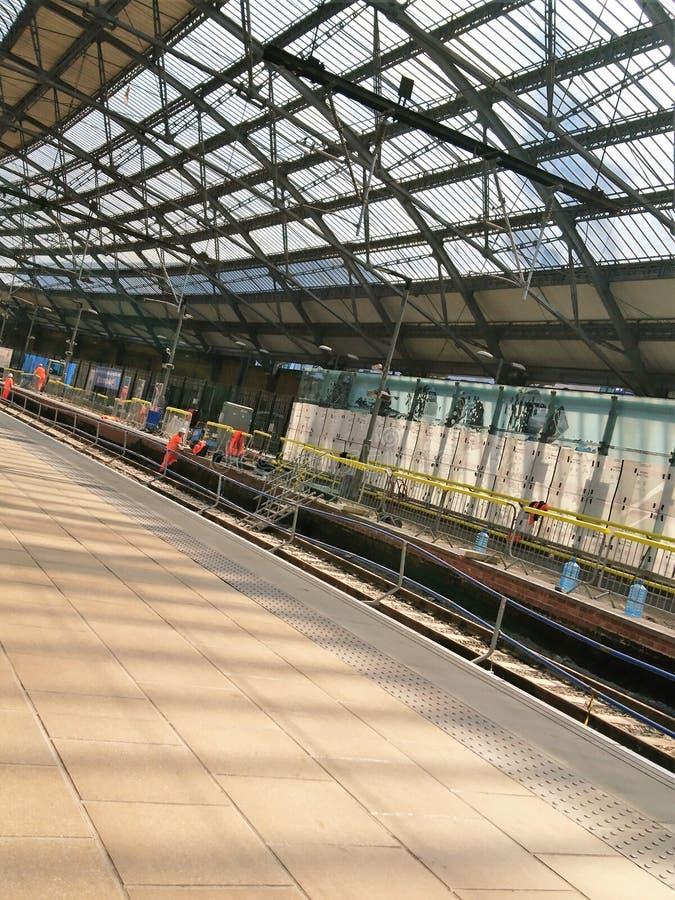 Station för Liverpool limefruktgata royaltyfri foto