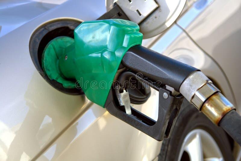 station för pump för gasdysa arkivfoton