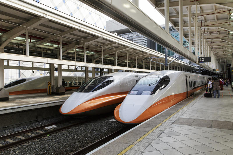 Station för snabb stång i Taiwan royaltyfri bild