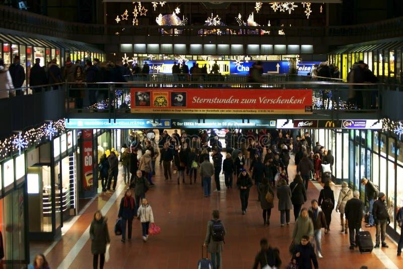 Station Hamburg lizenzfreie stockbilder