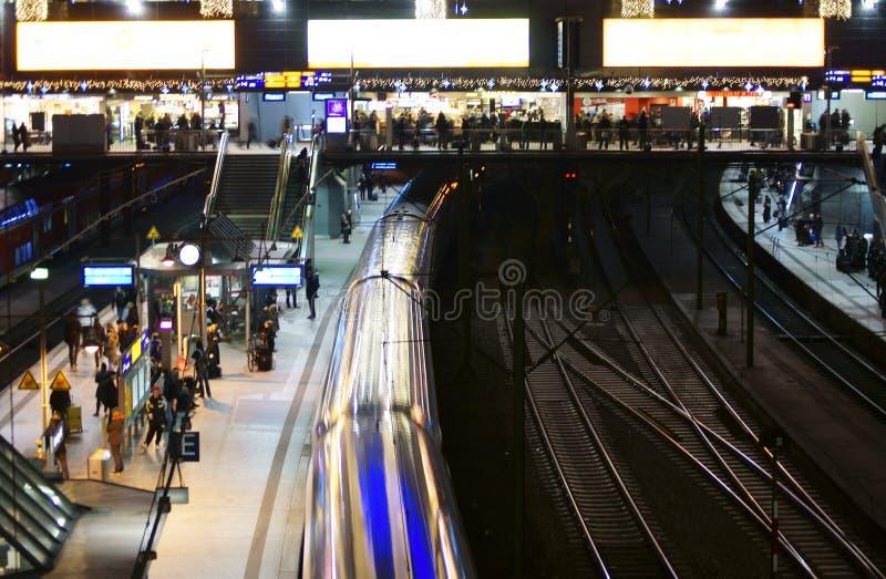 Station Hamburg stock image