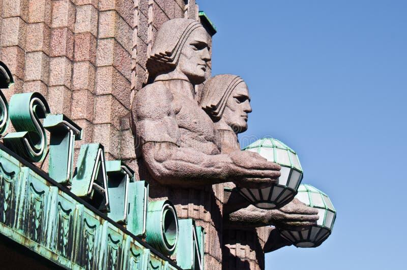 Station Helsinki royalty-vrije stock foto
