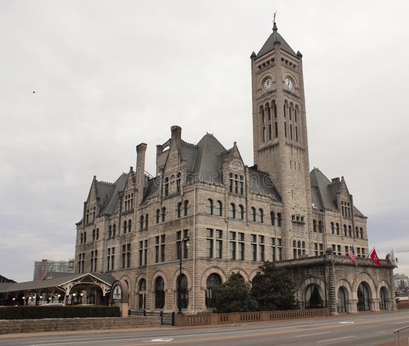 Station historique Nashville des syndicats image libre de droits