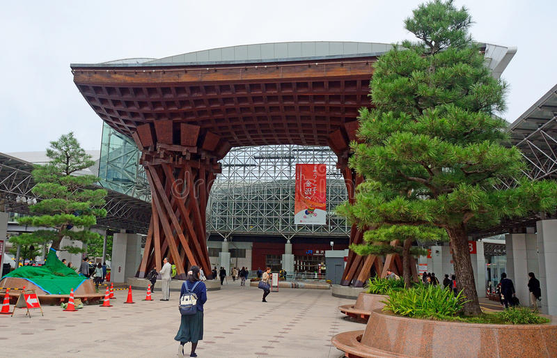Station, Kanazawa, Japan royalty-vrije stock fotografie