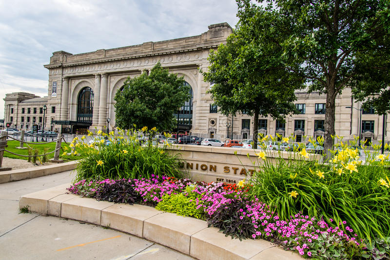 Station Kansas City Missouri des syndicats photos libres de droits