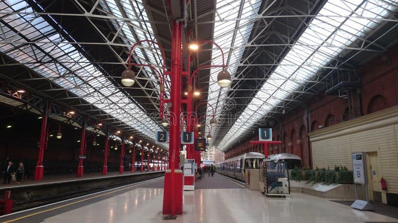 Station Londons Marylebone, London Großbritannien stockfotos