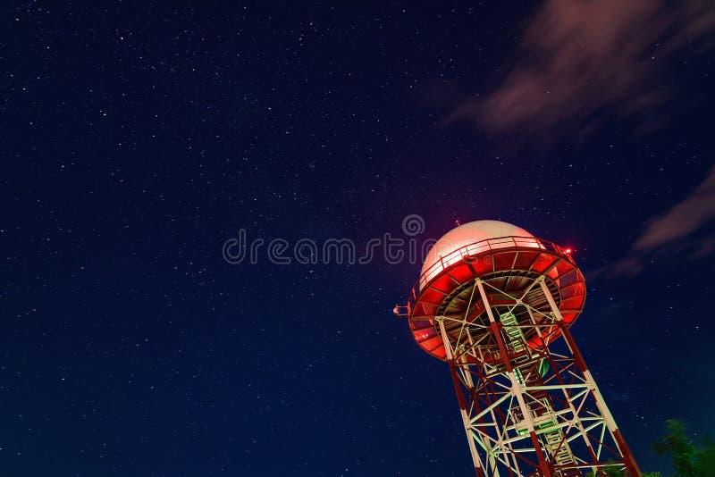Download Station météorologique image stock. Image du technologie - 77161245