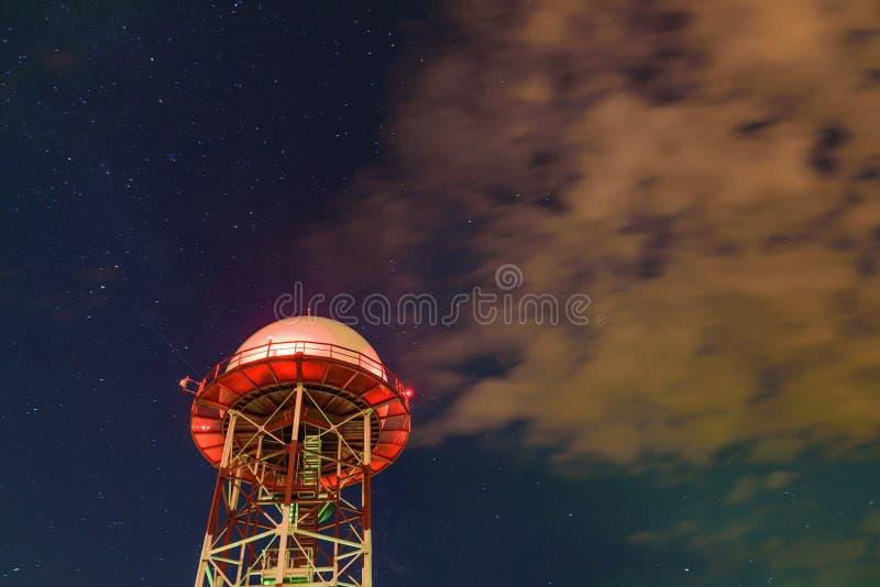 Download Station météorologique photo stock. Image du sunset, observatoire - 77162870