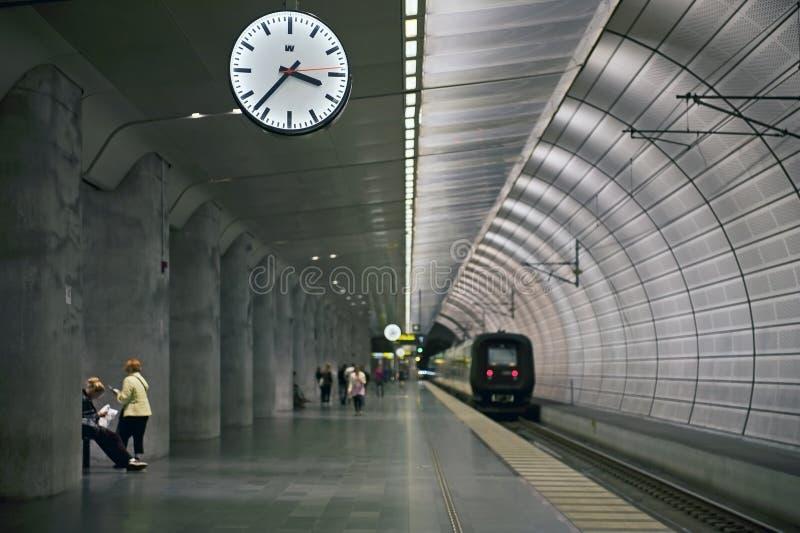 Station in Malmo, Zweden stock fotografie