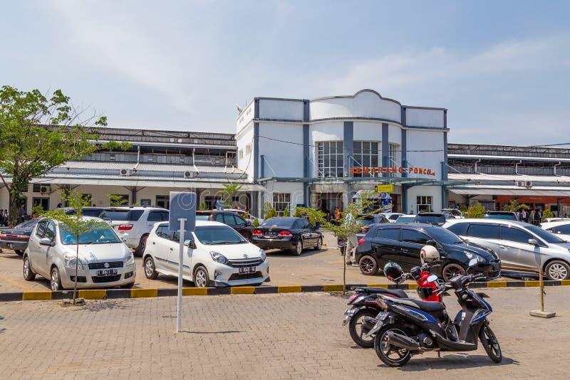Station Poncol à Semarang, Java occidental, Indonésie image libre de droits