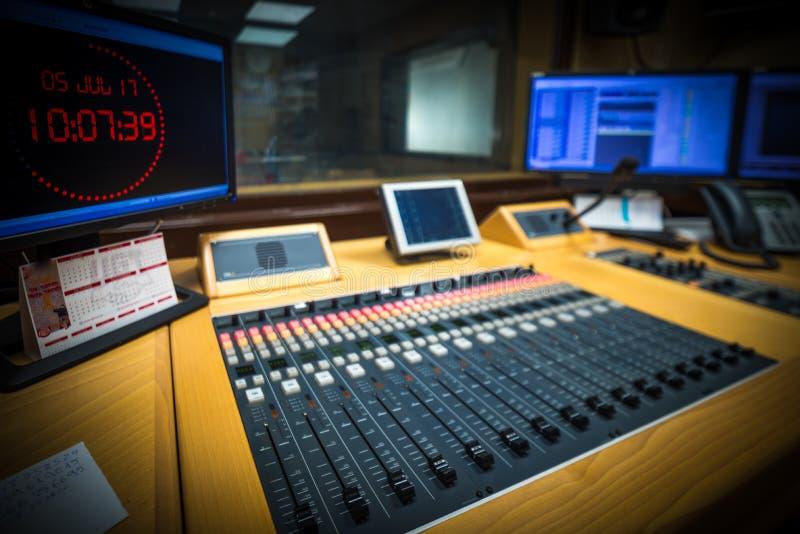 Station of radio stock image