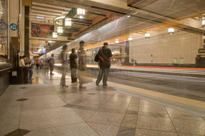 Station Seattle-Westlake stockfotos
