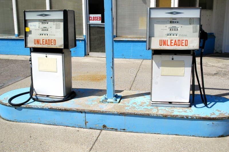 Station service image libre de droits