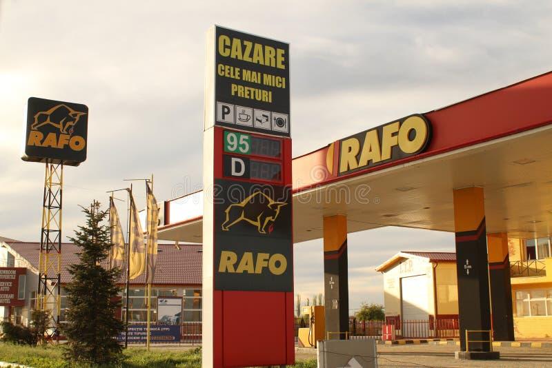 Station service de Rafo photo libre de droits
