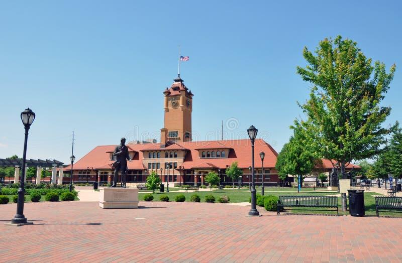 Station, Springfield, IL stock foto's