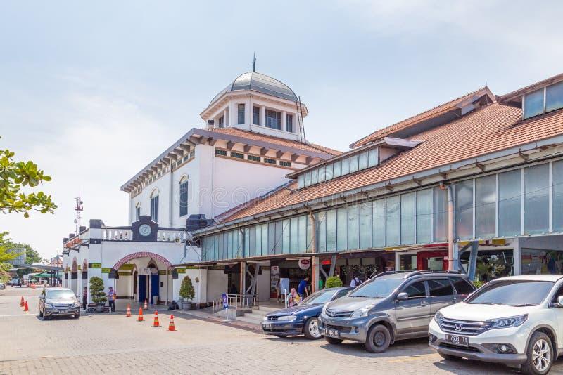 Station Tawang à Semarang, Java occidental, Indonésie photographie stock