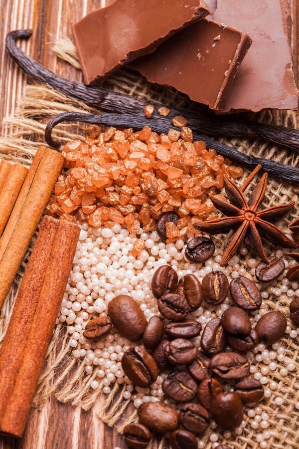 Station thermale de chocolat photo libre de droits