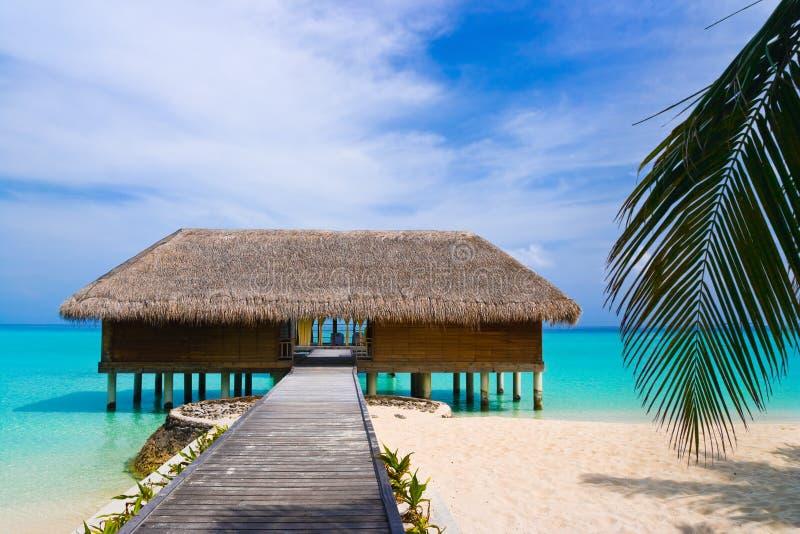 station thermale de salon de plage photo stock