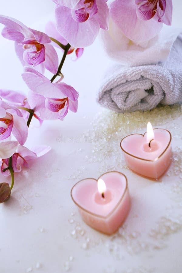 STATION THERMALE romantique images libres de droits