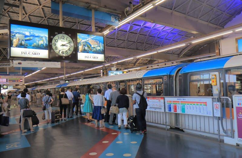 Station Tokyo Japon de monorail de Tokyo image stock