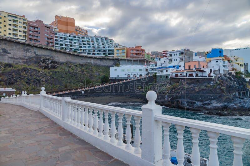 Station touristique Puerto De Santiago, Ténérife photo libre de droits
