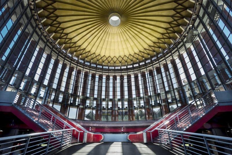 Station train Atocha. Madrid. Spain royalty free stock photography