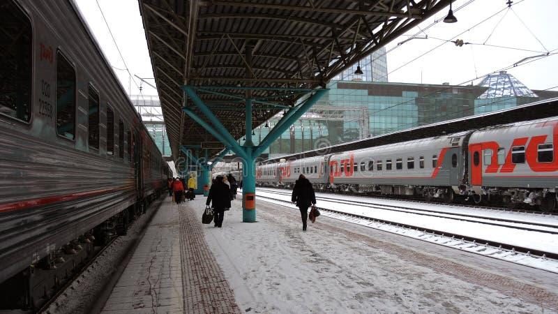 Station van Samara, Rusland royalty-vrije stock fotografie