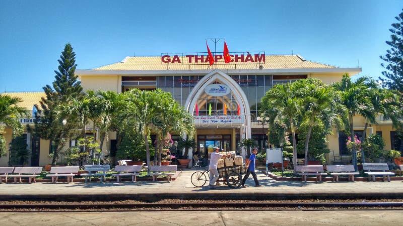 Station in Vietnam royalty-vrije stock afbeeldingen