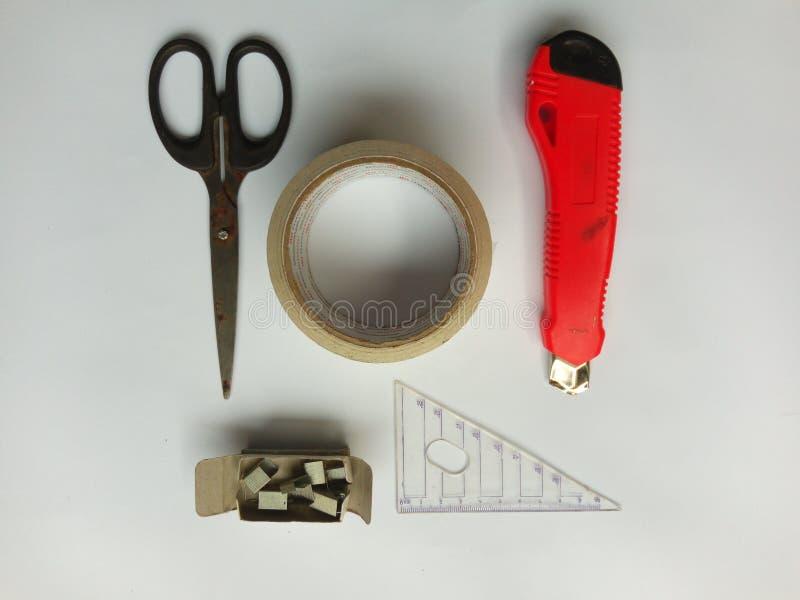 Stationaire hulpmiddelen stock afbeelding