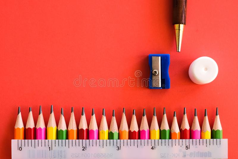 Stationaries Stock Image Image Of Notebook Colour