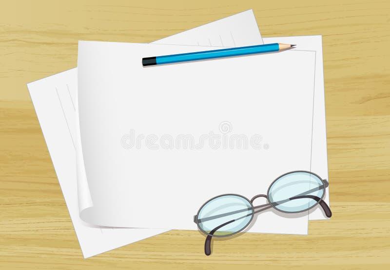 Download Stationary stock illustration. Illustration of writing - 25266157