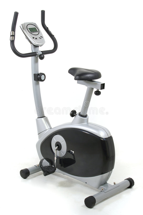 Download Stationary Bike. Gym Machine Royalty Free Stock Image - Image: 982896