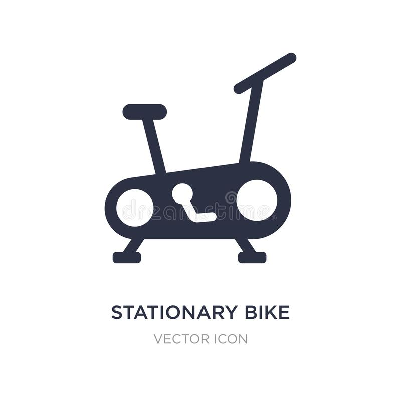 Free Stationary Bike Icon On White Background. Simple Element Illustration From Health And Medical Concept Stock Images - 141334094