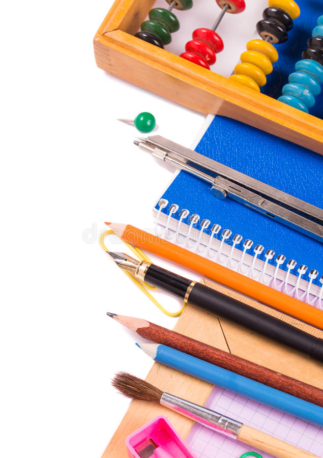 Stationary objects at right side royalty free stock images
