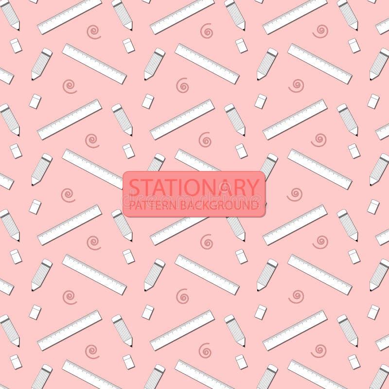Stationary pattern background. stock illustration