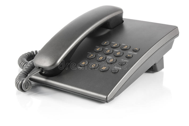 Download Stationary phone stock image. Image of lead, conductor - 23133355