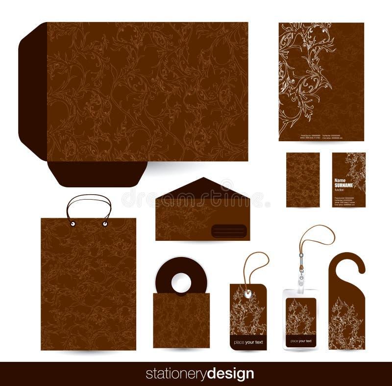 Download Stationary set design stock vector. Image of label, paper - 24488416