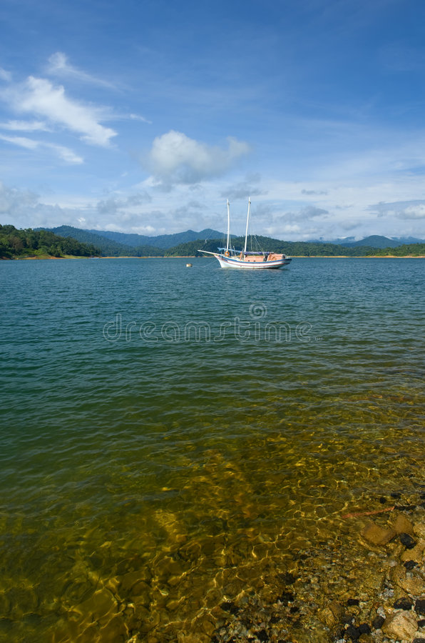 Download Stationary Yacht Royalty Free Stock Photography - Image: 7165117