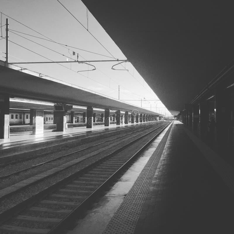 Stationen arkivbild