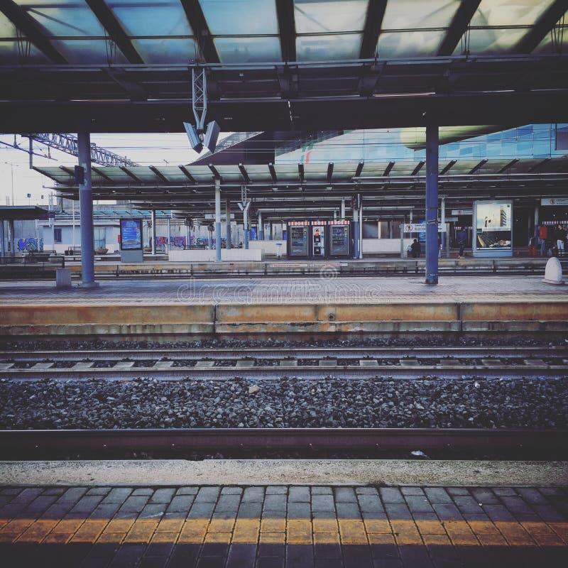 Stationen royaltyfri bild