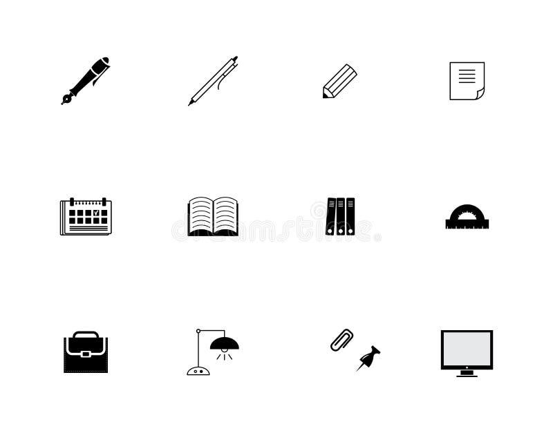 stationery ilustração do vetor
