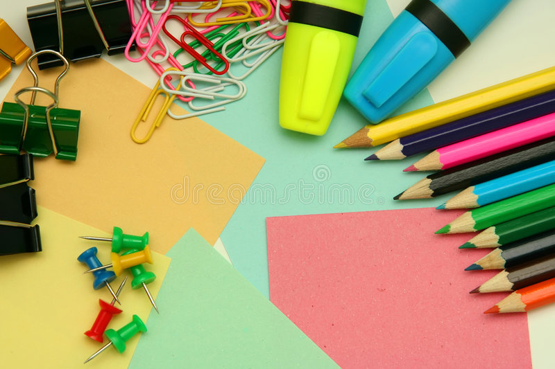 Stationery. Stock Photos