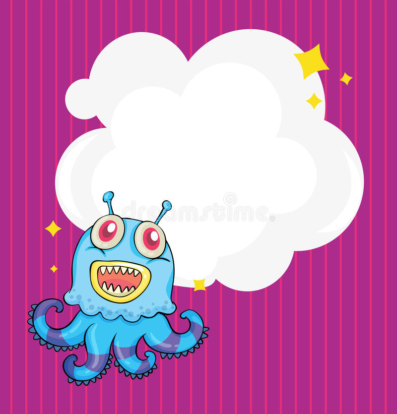 Download A Stationery With An Alien Octopus Stock Images - Image: 32676984