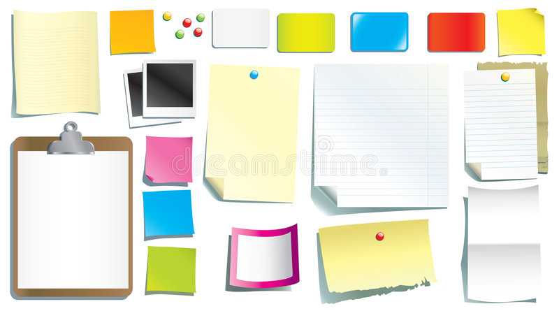 Download Stationery Papers Royalty Free Stock Photos - Image: 7158678
