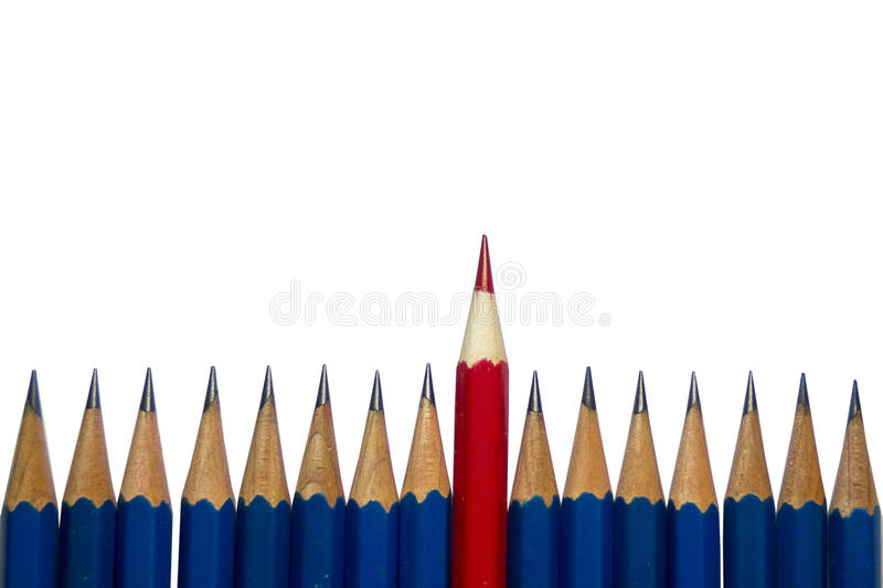Stationery Used to paint the art. royalty free illustration